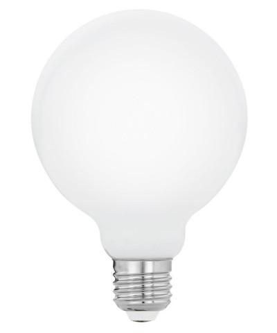 Лампа светодиодная Eglo 11599 G95 5W 2700K E27 Milky Фото 1