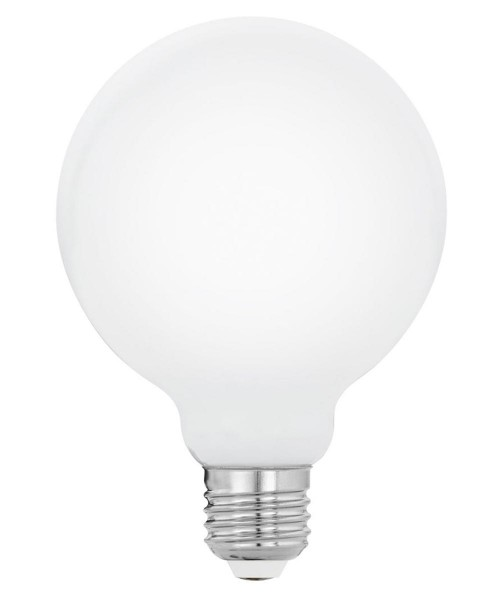 Лампа светодиодная Eglo 11599 G95 5W 2700K E27 Milky