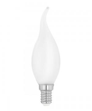 Лампа светодиодная Eglo 12565 CF35 4W 4000К E14 Milky