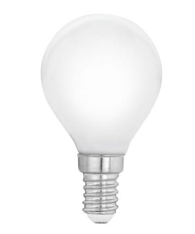 Лампа светодиодная Eglo 12566 P45 4W 4000К E14 Milky Фото 1