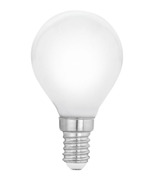 Лампа светодиодная Eglo 12566 P45 4W 4000К E14 Milky
