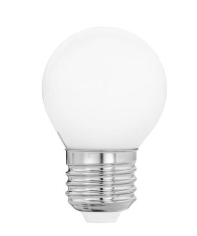 Лампа светодиодная Eglo 12567 G45 4W 4000К E27 Milky Фото 1