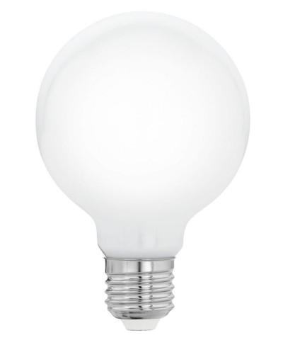 Лампа светодиодная Eglo 11769 G80 7W 2700K E27 Milky Фото 1