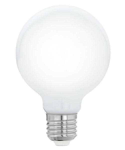Лампа светодиодная Eglo 11769 G80 7W 2700K E27 Milky