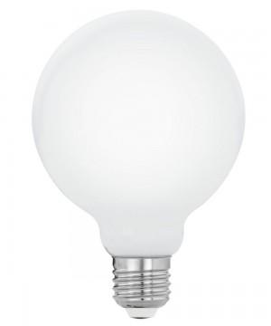 Лампа светодиодная Eglo 11771 G95 7W 2700K E27 Milky