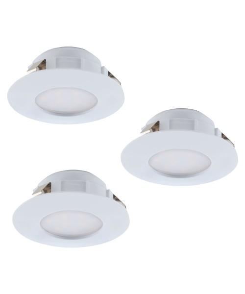 Набор из 3х точечных светильников Eglo 95807 Pineda