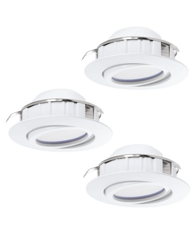 Набор из 3х точечных светильников Eglo 95857 Pineda