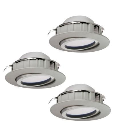 Набор из 3х точечных светильников Eglo 95853 Pineda