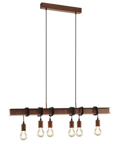 Подвесной светильник Eglo 49859 Townshend 4