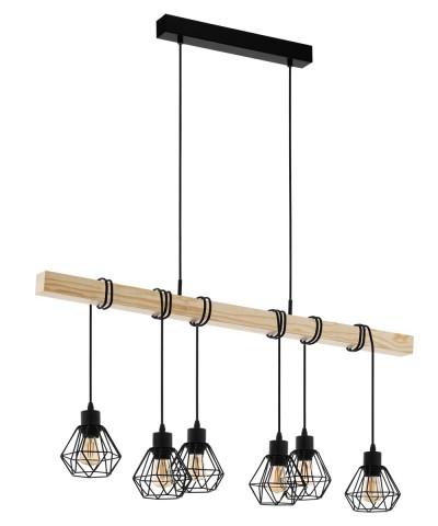 Подвесной светильник Eglo 43133 Townshend 5