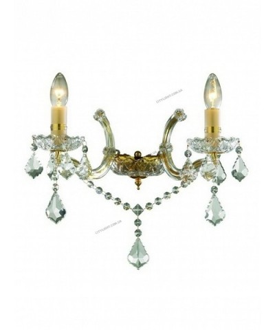 Бра IDEAL LUX 035659 FLORIAN AP2 ORO