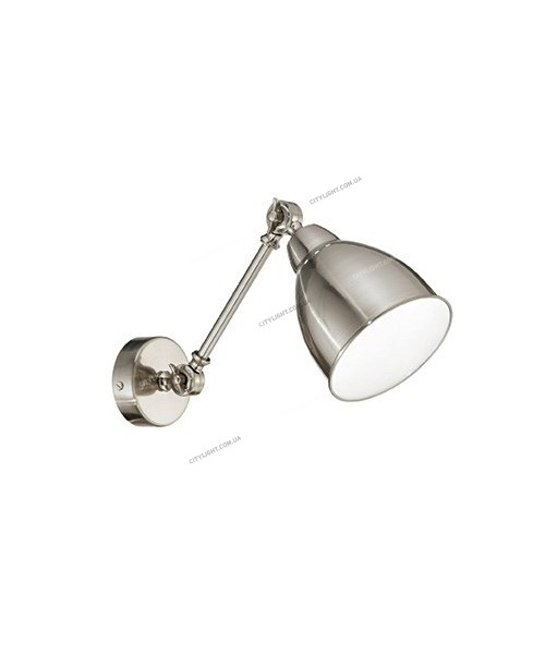 Бра IDEAL LUX 016399 NEWTON AP1 NICKEL