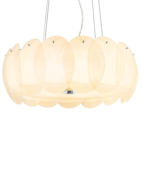 Подвесной светильник Ideal Lux 088174 OVALINO SP8 AMBRA
