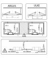 Точечный светильник Kanlux CT-2117-BR/M Argus (00336) Фото - 1