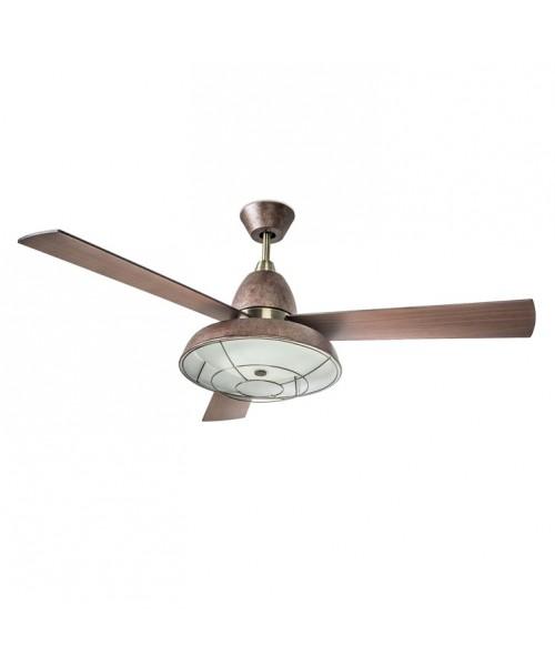 Люстра вентилятор LEDS-C4 30-3248-CG-E9 Vintage