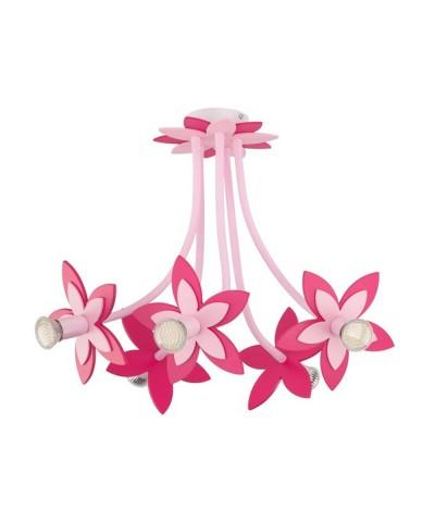 Потолочная люстра NOWODVORSKI 6896 Flowers Pink