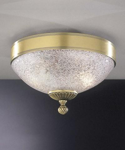 Потолочный светильник RECCAGNI ANGELO PL. 2302/2 Bronzo Arte