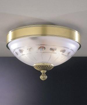 Потолочный светильник RECCAGNI ANGELO PL. 2304/2 Bronzo Arte