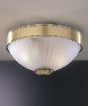 Потолочный светильник RECCAGNI ANGELO PL. 2305/2 Bronzo Arte
