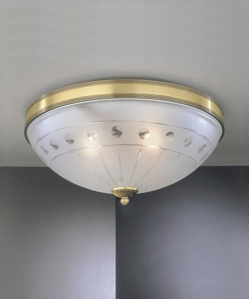 Потолочный светильник RECCAGNI ANGELO PL 4650/3 Bronzo Arte