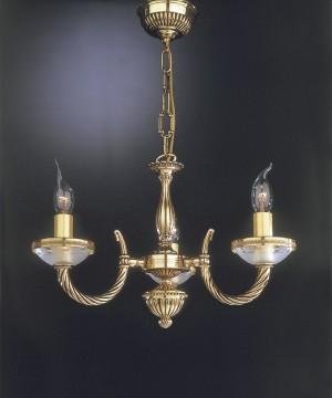 Подвесная люстра RECCAGNI ANGELO L 4750/3 Oro Francese