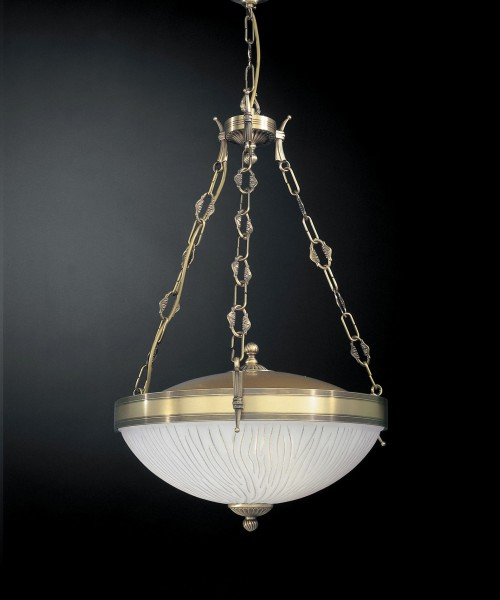 Подвесной светильник RECCAGNI ANGELO L 5610/3 Bronzo Arte