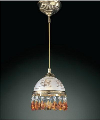 Подвесной светильник RECCAGNI ANGELO L 6001/16 Bronzo Arte
