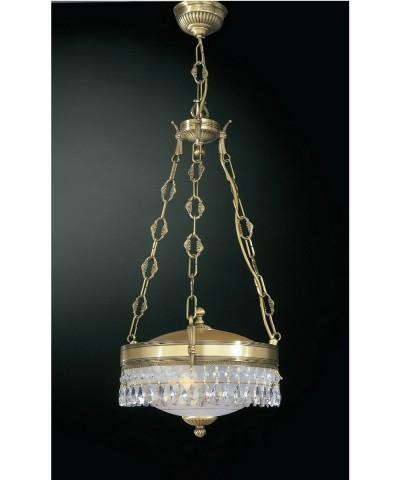 Подвесной светильник RECCAGNI ANGELO L 6010/2 Bronzo Arte