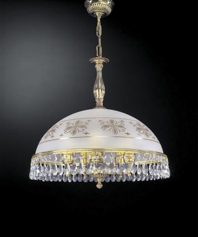 Подвесной светильник RECCAGNI ANGELO L 6100/48 Oro Francese