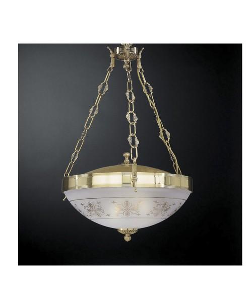 Подвесной светильник RECCAGNI ANGELO L 6112/3 Oro Francese