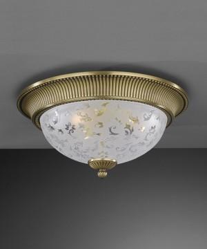 Потолочный светильник RECCAGNI ANGELO PL. 6202/4 Bronzo Arte