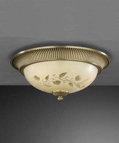 Потолочный светильник RECCAGNI ANGELO PL. 6208/4 Bronzo Arte