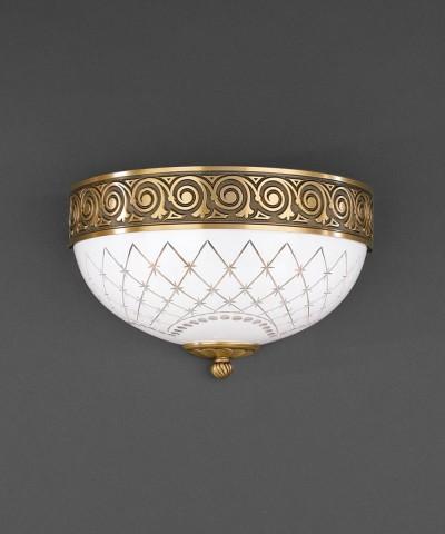 Настенный светильник RECCAGNI ANGELO A 7012/2 Bronzo Arte