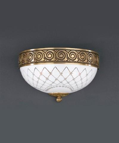 Настенный светильник RECCAGNI ANGELO A 7112/2 Oro Francese