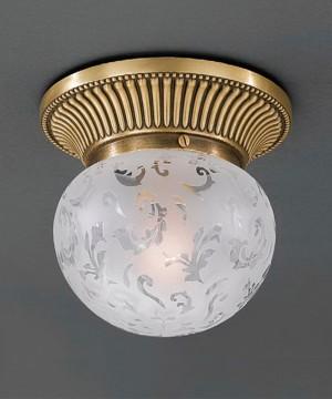 Точечный светильник RECCAGNI ANGELO PL. 7701/1 Bronzo Arte
