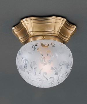 Точечный светильник RECCAGNI ANGELO PL. 7731/1 Bronzo Arte