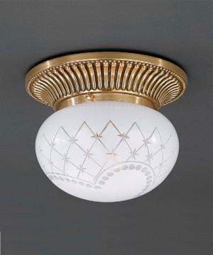 Точечный светильник RECCAGNI ANGELO PL 7800/1 Oro Francese