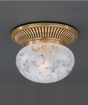 Точечный светильник RECCAGNI ANGELO PL 7801/1 Oro Francese