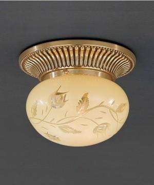 Точечный светильник RECCAGNI ANGELO PL 7802/1 Oro Francese