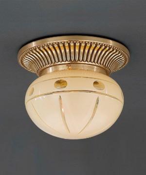 Точечный светильник RECCAGNI ANGELO PL 7803/1 Oro Francese
