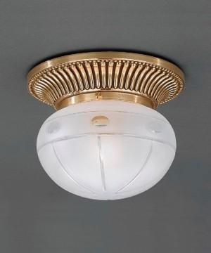 Точечный светильник RECCAGNI ANGELO PL 7804/1 Oro Francese