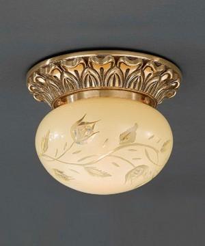 Точечный светильник RECCAGNI ANGELO PL 7812/1 Oro Francese