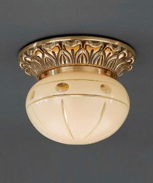 Точечный светильник RECCAGNI ANGELO PL 7813/1 Oro Francese