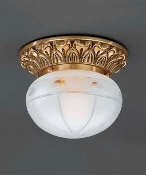 Точечный светильник RECCAGNI ANGELO PL 7814/1 Oro Francese