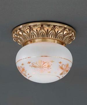 Точечный светильник RECCAGNI ANGELO PL 7815/1 Oro Francese