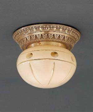 Точечный светильник RECCAGNI ANGELO PL 7823/1 Oro Francese