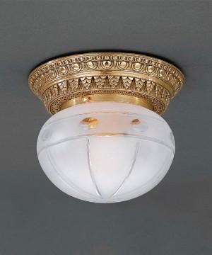 Точечный светильник RECCAGNI ANGELO PL 7824/1 Oro Francese