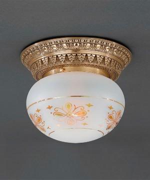 Точечный светильник RECCAGNI ANGELO PL 7825/1 Oro Francese