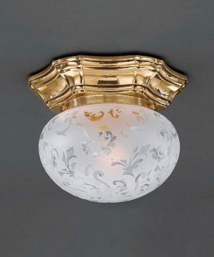 Точечный светильник RECCAGNI ANGELO PL 7831/1 Oro Francese