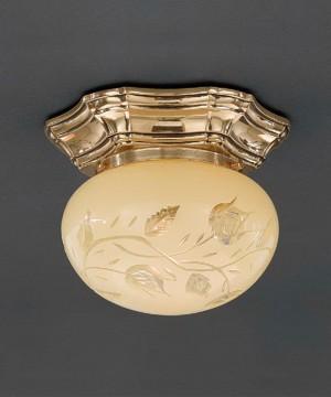 Точечный светильник RECCAGNI ANGELO PL 7832/1 Oro Francese